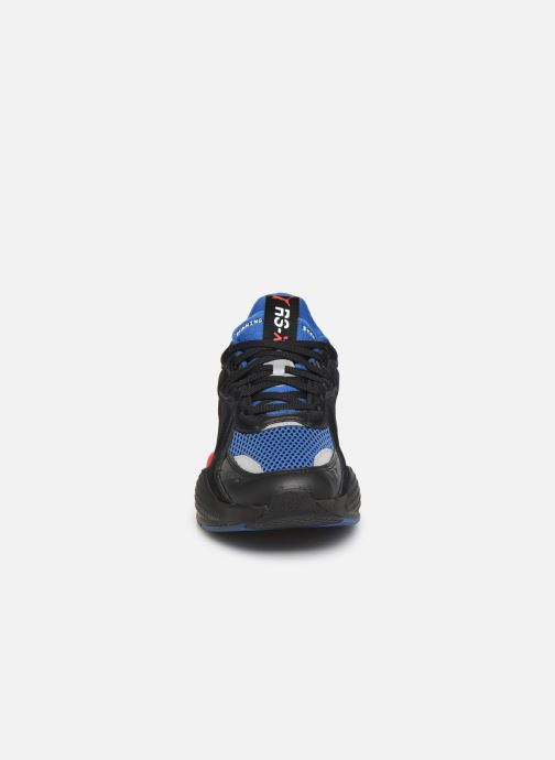 Baskets Puma Rs-X Soft Case M Bleu vue portées chaussures