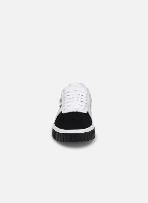 Baskets Puma Cali Remix Wn'S Blanc vue portées chaussures