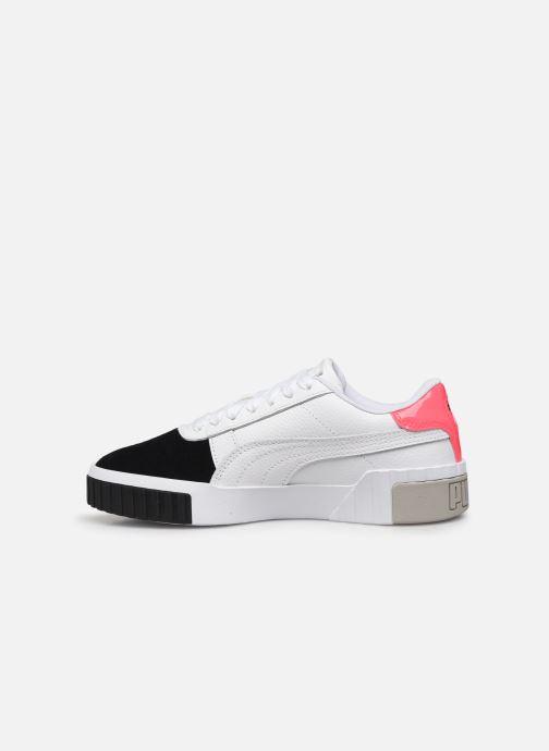 Sneaker Puma Cali Remix Wn'S weiß ansicht von vorne