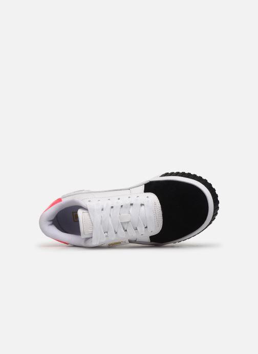 Sneaker Puma Cali Remix Wn'S weiß ansicht von links