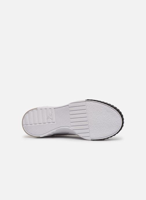 Sneaker Puma Cali Remix Wn'S weiß ansicht von oben