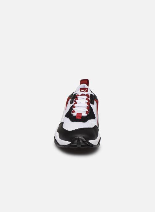 Baskets Puma Thunder Fashion 2.0 Blanc vue portées chaussures
