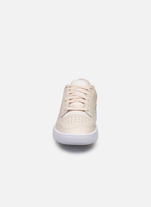 Baskets Puma Ralph Sampson Lo W Beige vue portées chaussures
