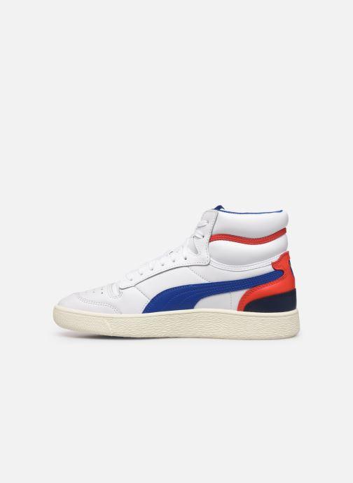 Sneakers Puma Ralph Sampson Mid M Hvid se forfra