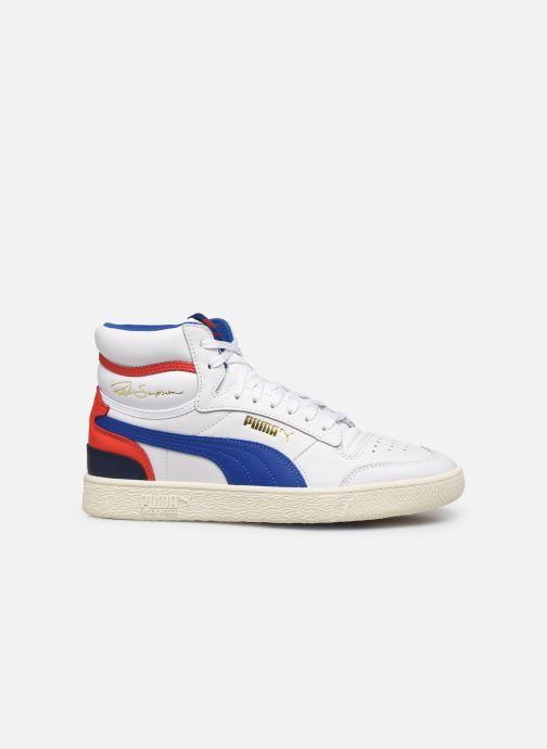 Sneakers Puma Ralph Sampson Mid M Hvid se bagfra