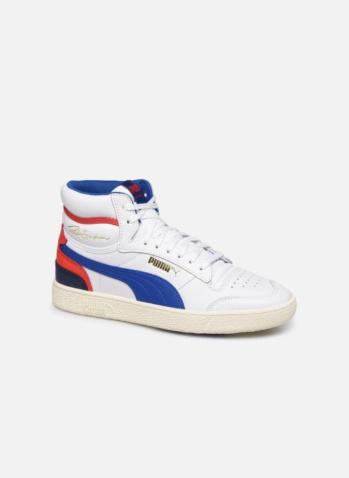 Sneakers Puma Ralph Sampson Mid M Hvid detaljeret billede af skoene