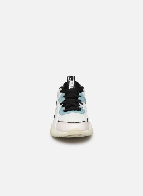 Baskets Puma Nova 2 Wn'S Blanc vue portées chaussures
