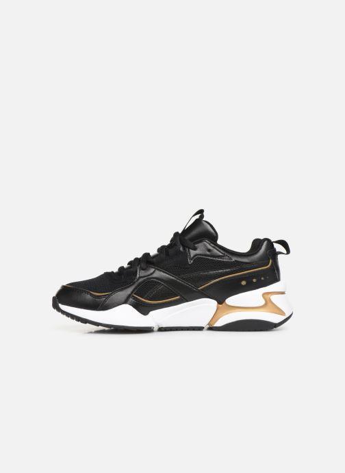Sneaker Puma Nova 2 Wn'S schwarz ansicht von vorne