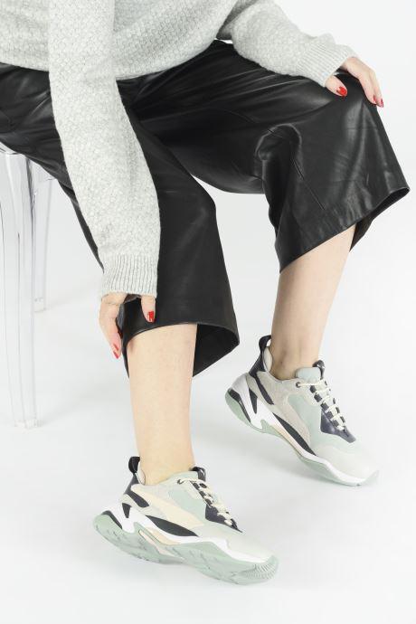 Sneaker Puma Thunder Colour Block Wn'S grün ansicht von unten / tasche getragen