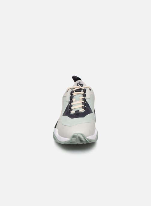 Baskets Puma Thunder Colour Block Wn'S Vert vue portées chaussures