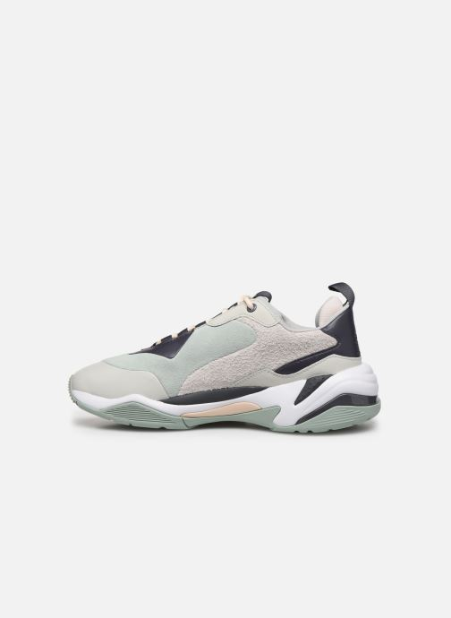 Sneaker Puma Thunder Colour Block Wn'S grün ansicht von vorne
