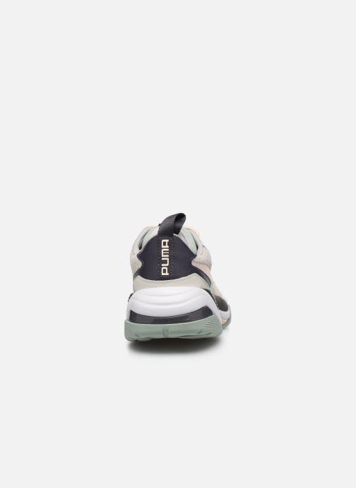 Sneakers Puma Thunder Colour Block Wn'S Groen rechts