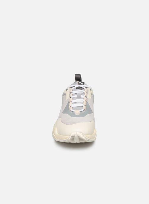 Baskets Puma Thunder Colour Block Wn'S Beige vue portées chaussures