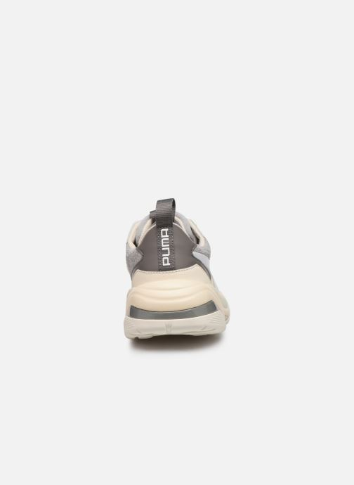 Baskets Puma Thunder Colour Block Wn'S Beige vue droite