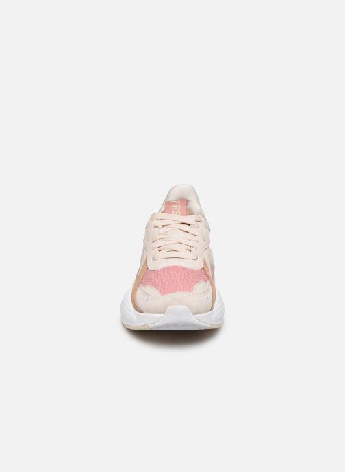 Baskets Puma Rs-X Reinvent Wn'S Rose vue portées chaussures