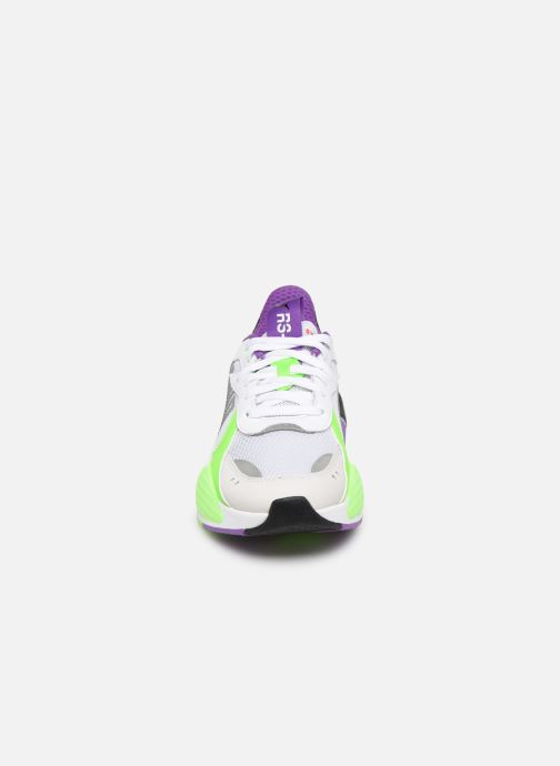 Baskets Puma Rs-X Bold W Blanc vue portées chaussures
