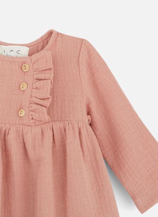 Vêtements Les Petites Choses Dress RACHEL Rose vue portées chaussures