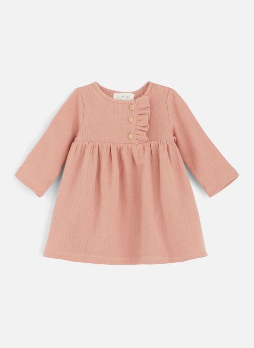 Vêtements Les Petites Choses Dress RACHEL Orange vue détail/paire
