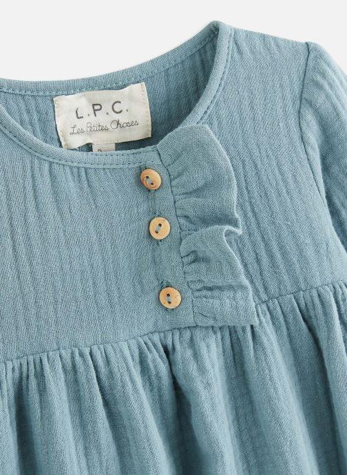 Vêtements Les Petites Choses Dress RACHEL Bleu vue portées chaussures