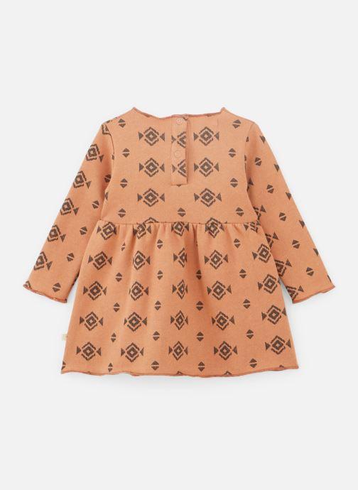 Vêtements Les Petites Choses Dress ROBYN Orange vue bas / vue portée sac