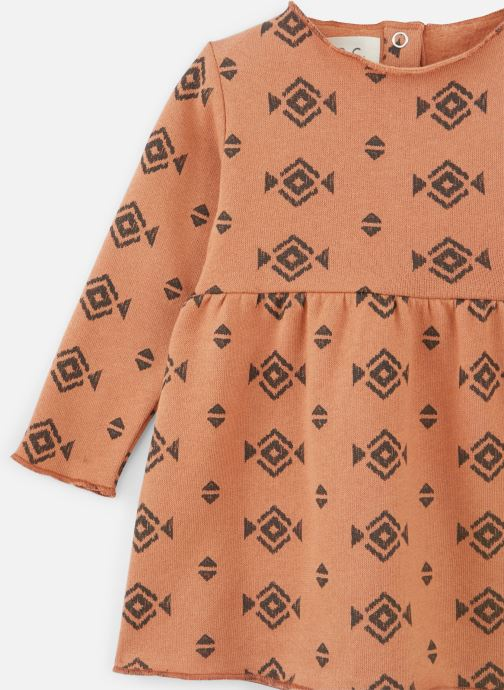 Vêtements Les Petites Choses Dress ROBYN Orange vue portées chaussures
