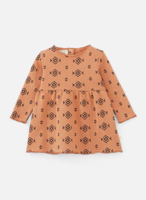 Vêtements Les Petites Choses Dress ROBYN Orange vue détail/paire