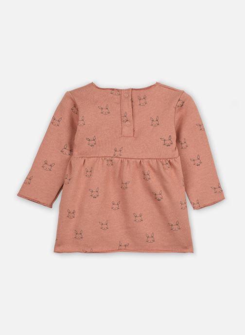 Vêtements Les Petites Choses Dress ROBYN Marron vue portées chaussures