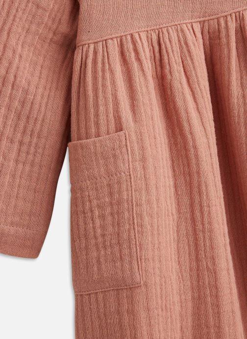 Vêtements Les Petites Choses Dress ROSIE Marron vue portées chaussures