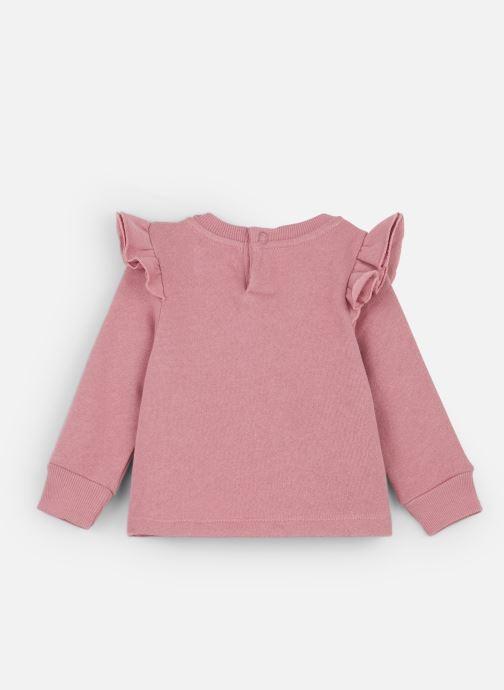 Vêtements Les Petites Choses Sweatshirt AVA Rose vue bas / vue portée sac