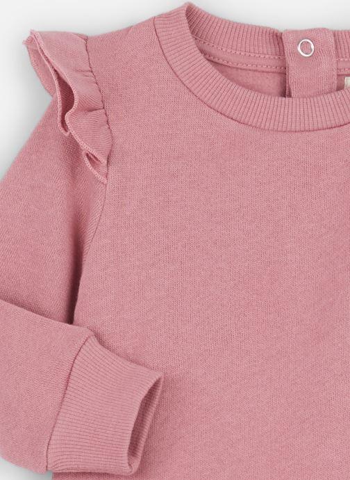 Vêtements Les Petites Choses Sweatshirt AVA Rose vue portées chaussures
