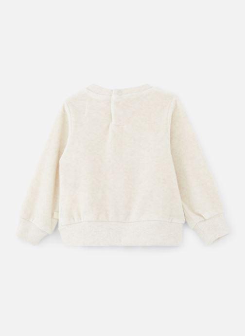 Vêtements Les Petites Choses Sweatshirt Velours SACHA Beige vue bas / vue portée sac