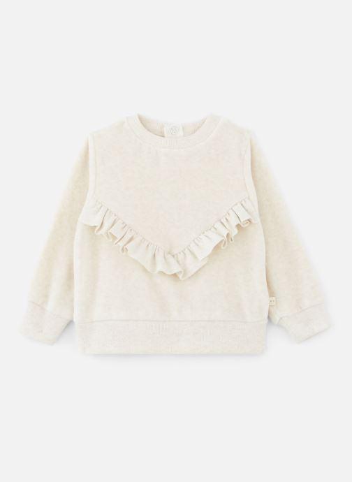 Vêtements Les Petites Choses Sweatshirt Velours SACHA Beige vue détail/paire