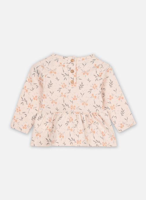 Vêtements Les Petites Choses Blouse BESS Rose vue portées chaussures