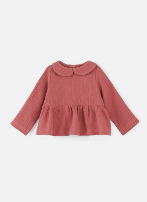 Vêtements Les Petites Choses Blouse BECCA Rose vue détail/paire