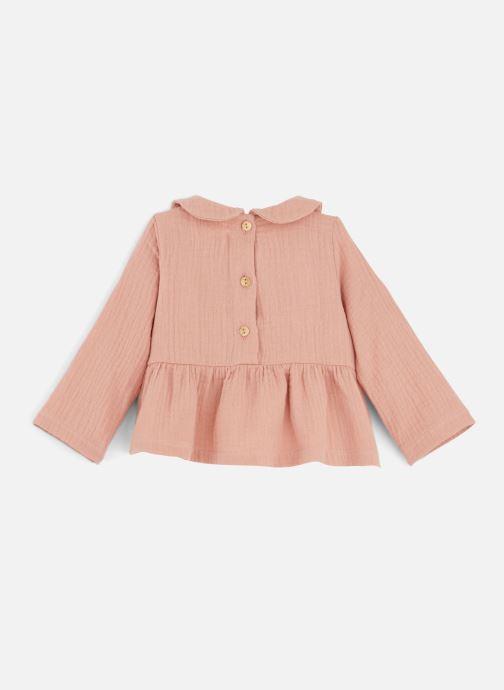 Vêtements Les Petites Choses Blouse BECCA Orange vue bas / vue portée sac