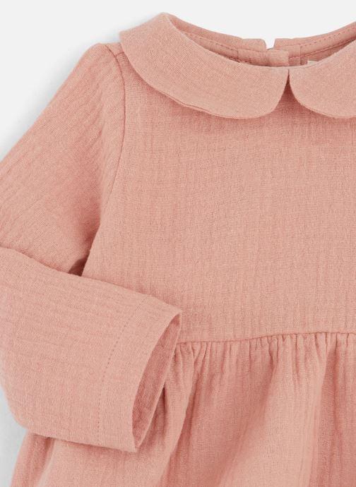 Vêtements Les Petites Choses Blouse BECCA Orange vue portées chaussures