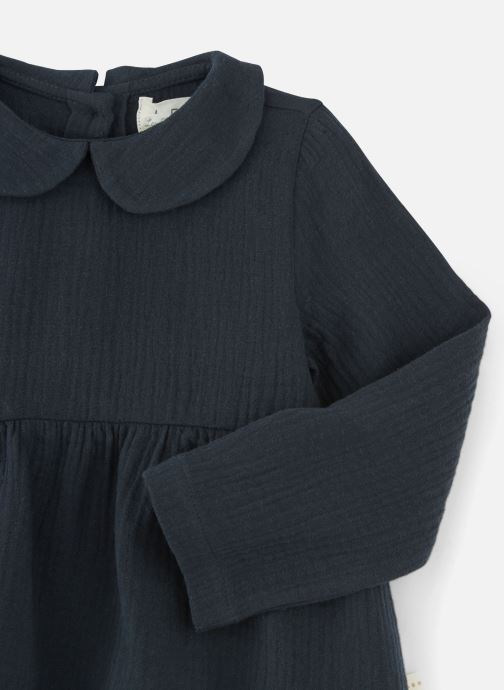 Vêtements Les Petites Choses Blouse BECCA Gris vue portées chaussures