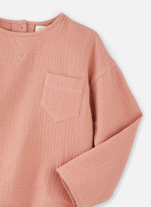 Vêtements Les Petites Choses Shirt CALVIN Orange vue portées chaussures