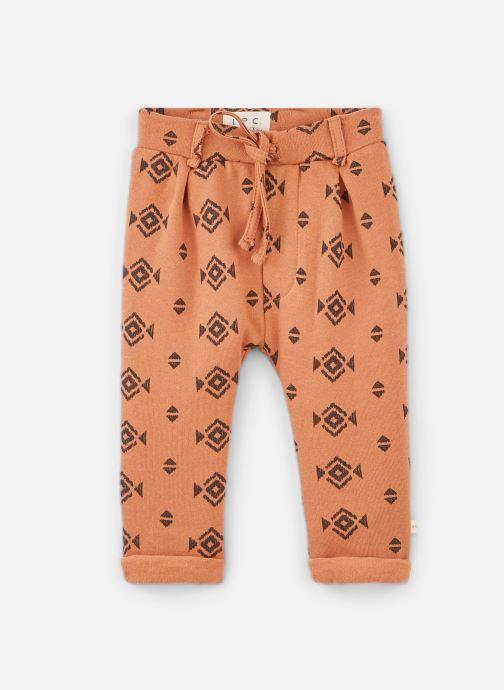 Vêtements Les Petites Choses Pants MINICHINO print Orange vue détail/paire