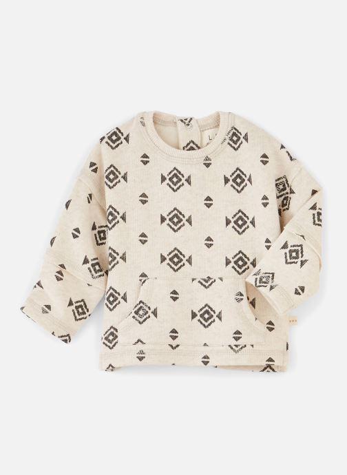 Vêtements Les Petites Choses Sweat LOUIS Beige vue détail/paire