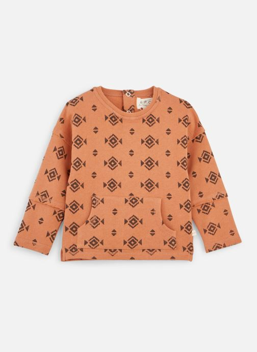 Vêtements Les Petites Choses Sweat LOUIS Orange vue détail/paire