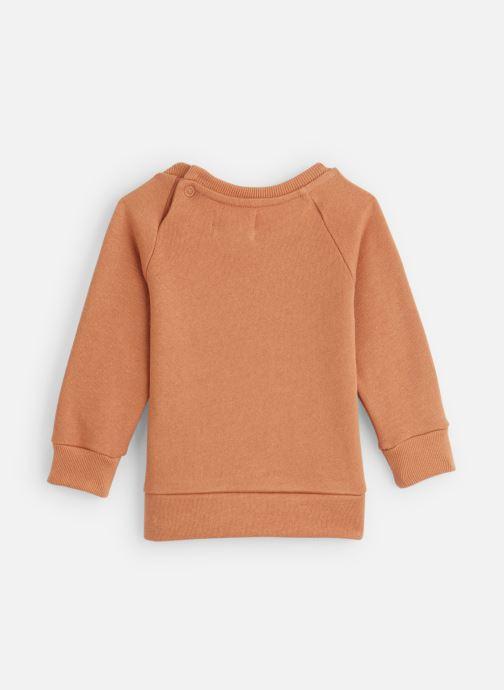 Vêtements Les Petites Choses Sweatshirt TRISTAN Orange vue bas / vue portée sac