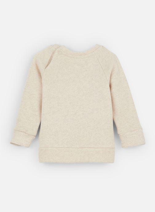 Vêtements Les Petites Choses Sweatshirt TRISTAN Beige vue bas / vue portée sac