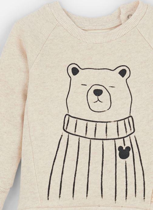 Vêtements Les Petites Choses Sweatshirt TRISTAN Beige vue portées chaussures