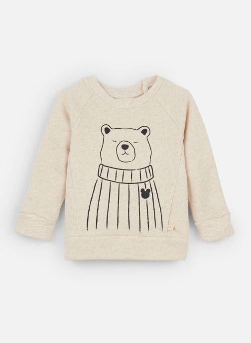 Vêtements Les Petites Choses Sweatshirt TRISTAN Beige vue détail/paire
