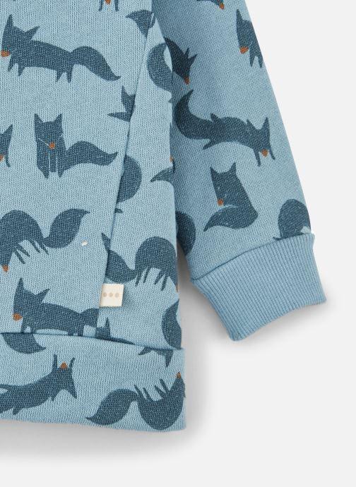 Vêtements Les Petites Choses Sweatshirt TRISTAN Bleu vue portées chaussures