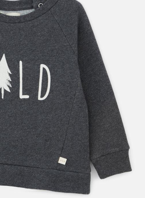 Vêtements Les Petites Choses Sweatshirt TRISTAN Gris vue portées chaussures