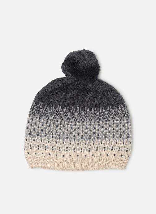 Gorro Les Petites Choses Hat Jacquard BOSTON Gris vista de detalle / par