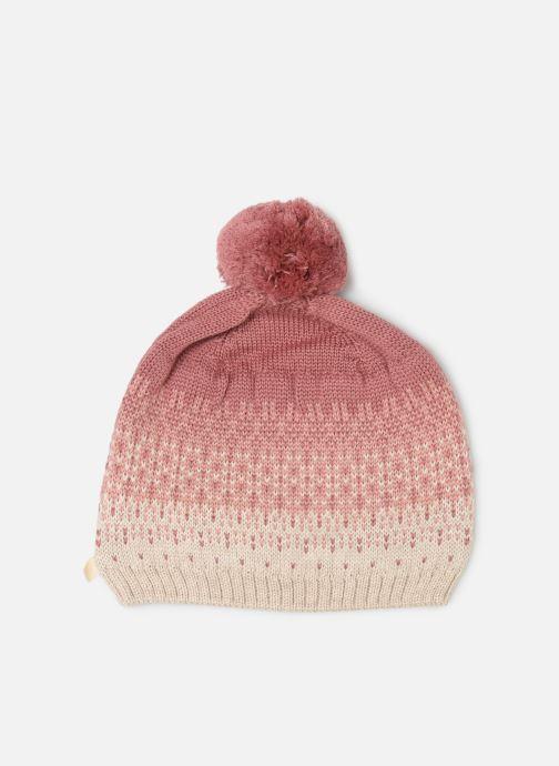 Bonnets Les Petites Choses Hat Jacquard BOSTON Rose vue détail/paire
