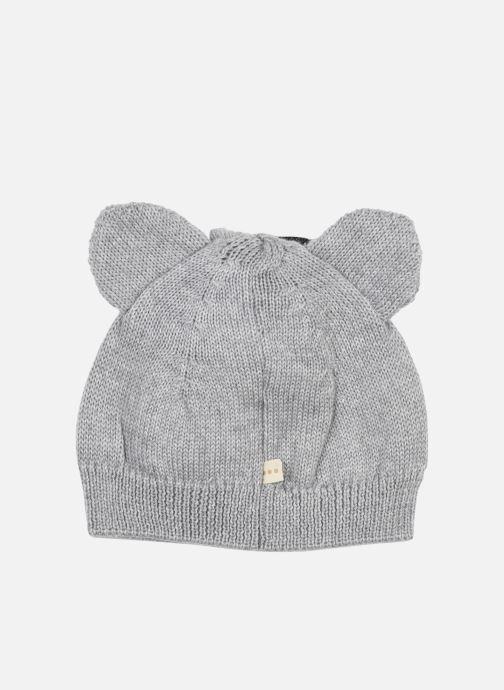Bonnets Les Petites Choses Hat BISOU Gris vue portées chaussures